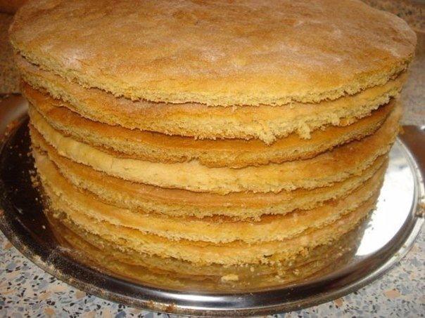 Как быстро приготовить коржи для торта? ✨
