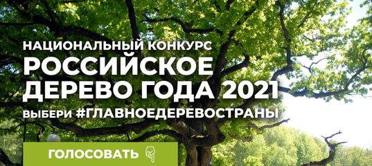 Национальный конкурс «Российское дерево года 2021» – Деревья – памятники живой природы