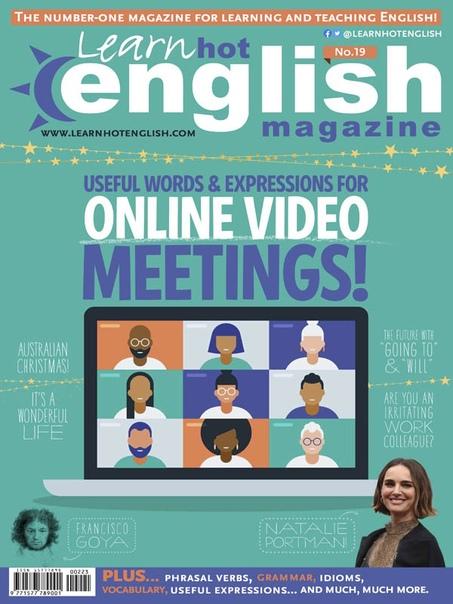 Learn Hot English I223 12.2020