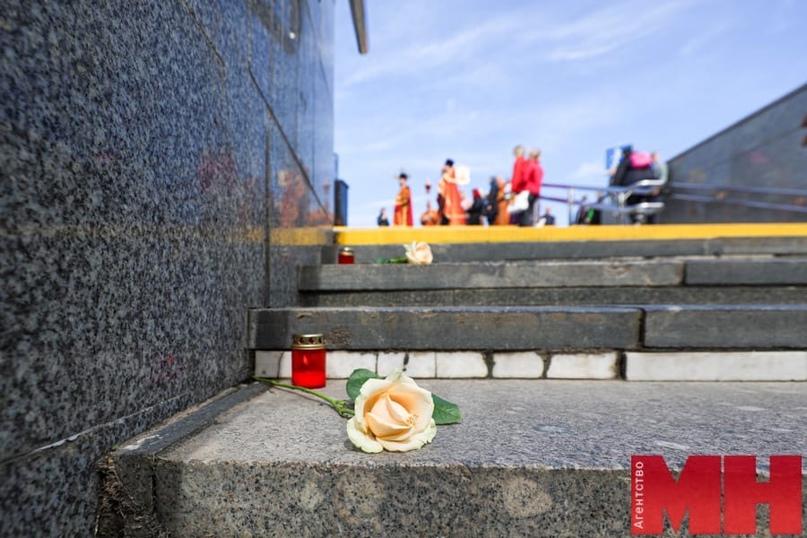 Трагедия на Немиге. В годовщину печальной даты минчане несут цветы к мемориальному знаку