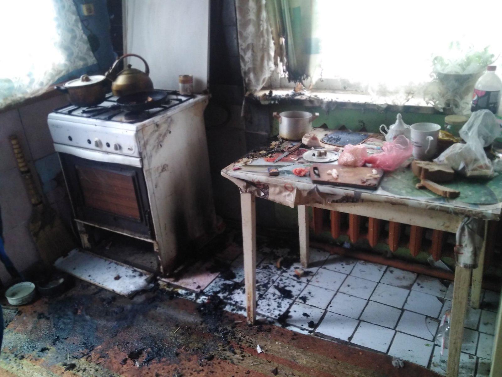 Огонь унес жизнь человека в Лиде.