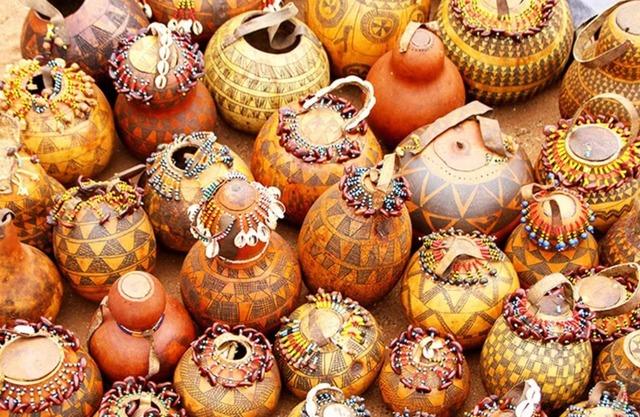 красивые вазы из тыквы,