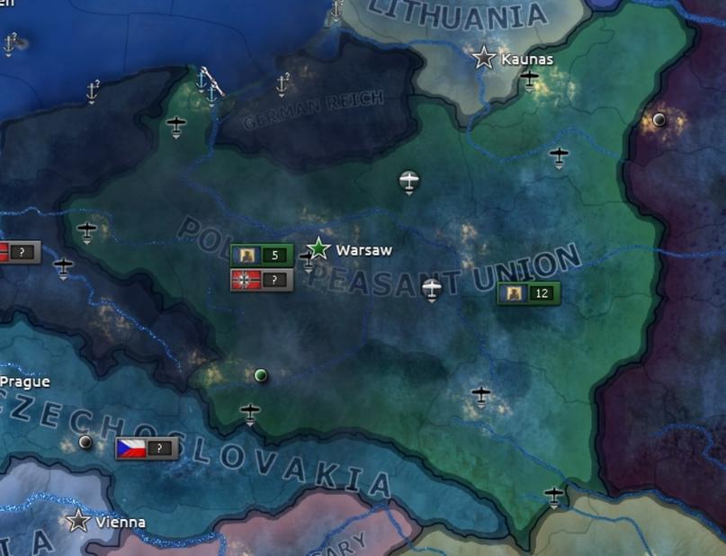 Дневник разработчиков Hearts of Iron IV — Изменение древа фокусов Польши, часть 2, изображение №7