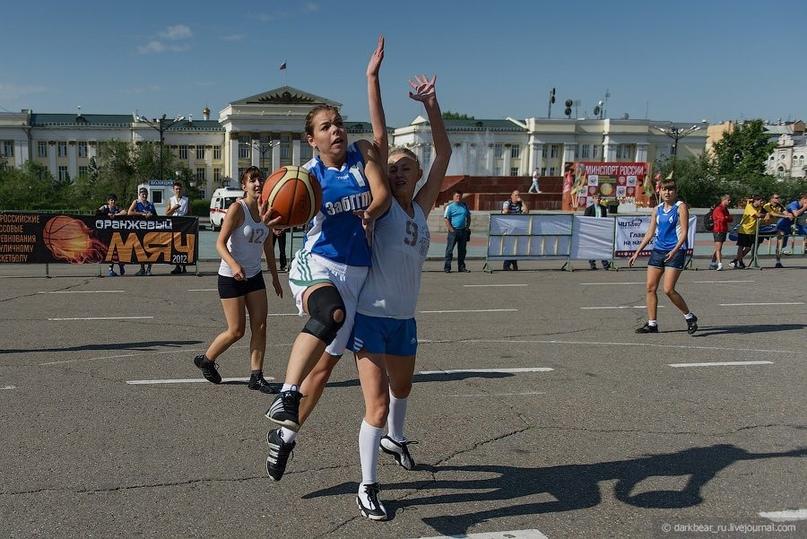 Всероссийские соревнования по уличному баскетболу пройдут в Чите 28 августа