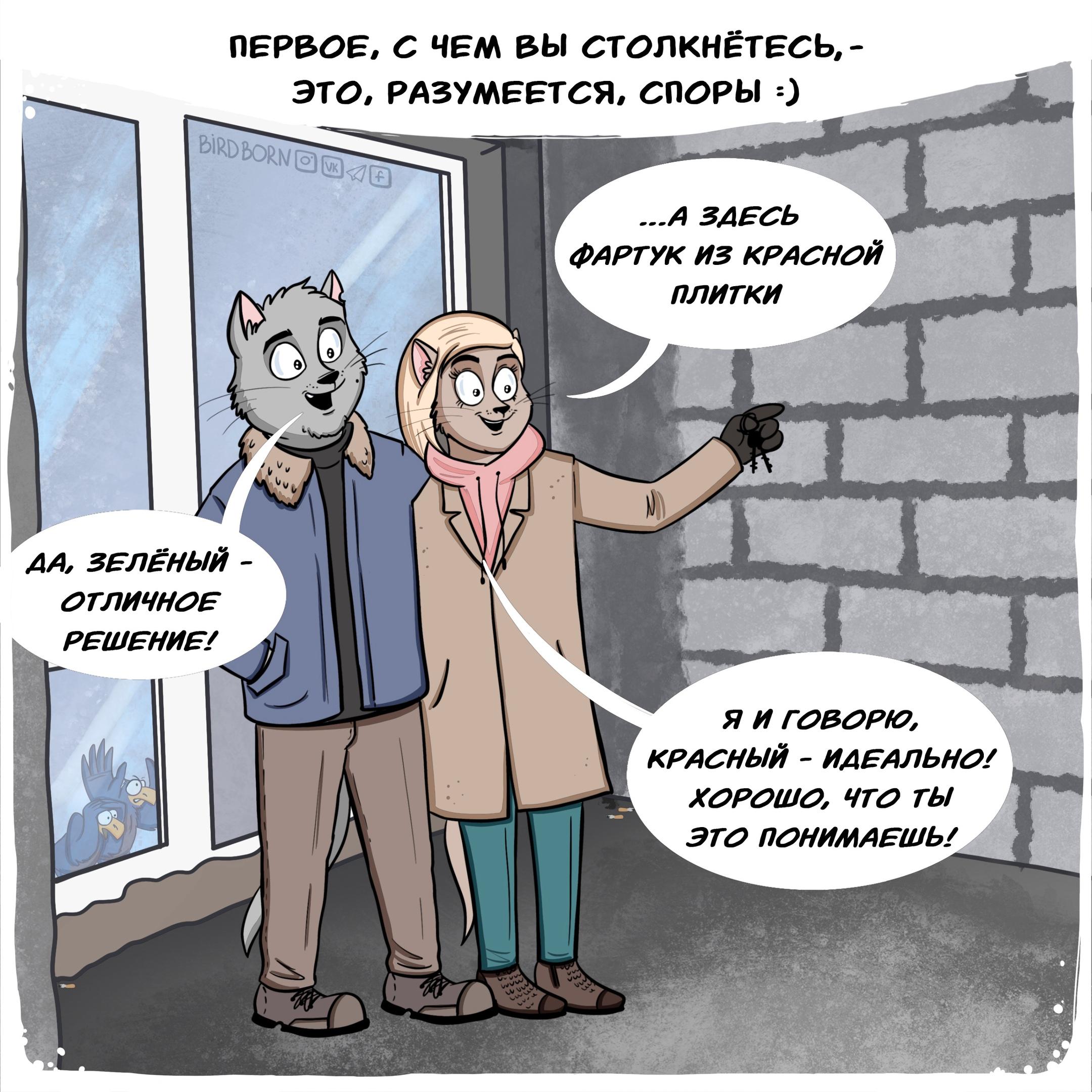 bird born ремонт комикс споры