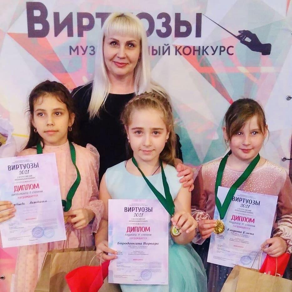 Юные музыканты Петровска продемонстрировали исполнительское мастерство на Всероссийских конкурсах
