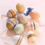 Как украсить пасхальные яйца тесемками и ленточками — МК и идеи