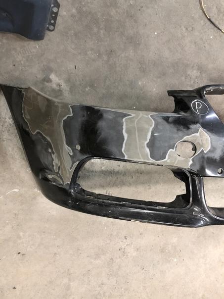 Товарищи. Имеем Jaguar XF подбитый по морде. Бампер...