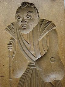 Японские деревянные резные формы Кашигата, изображение №31
