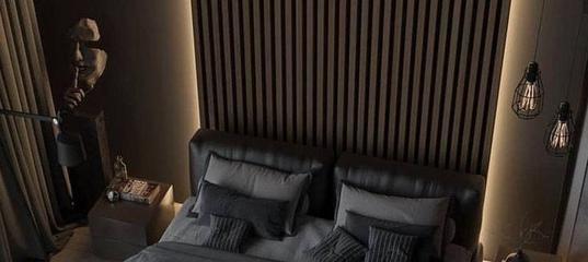 Appart Design on Twitter | Спальня холостяка, Черная спальня, Спальня
