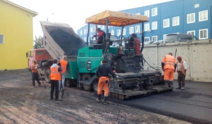 Устройство слоев автомобильной дороги в Московской области