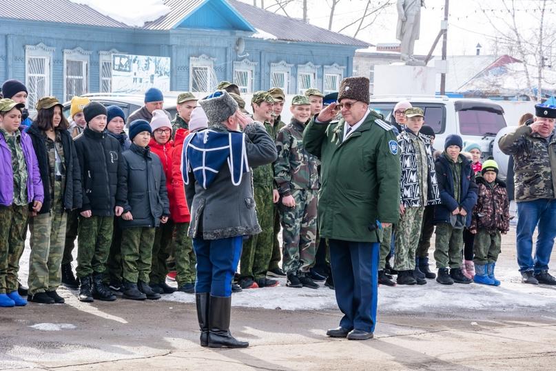 Уйские казаки и казачата провели военно-патриотическую игру, изображение №5