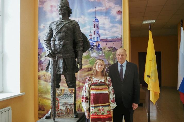 В Переславле-Залесском открыли памятник Александру Невскому