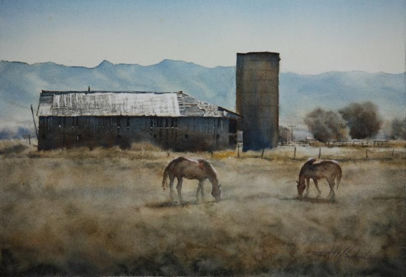Американский художник-акварелист. Robert McFarland, изображение №6