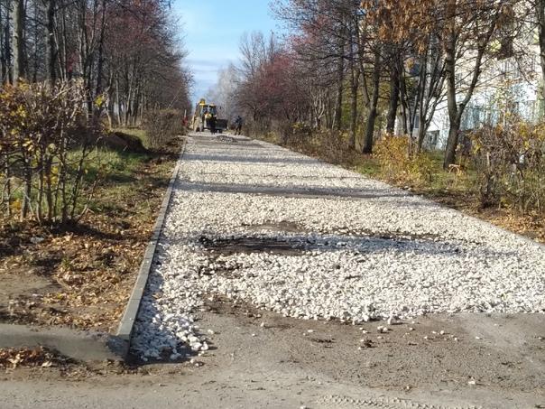 #Новый_тротуар #КозьмодемьянскНесмотря на многочис...