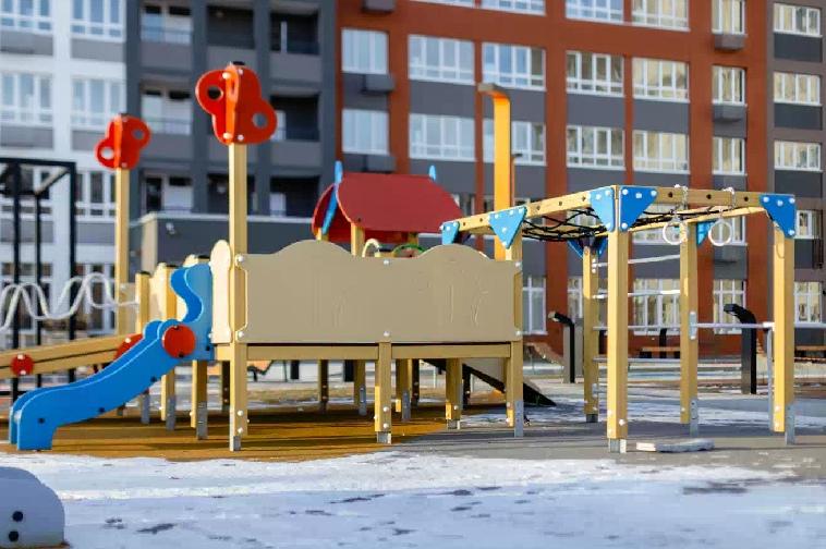 В Куйбышевском районе строяться новые макрорайоны.