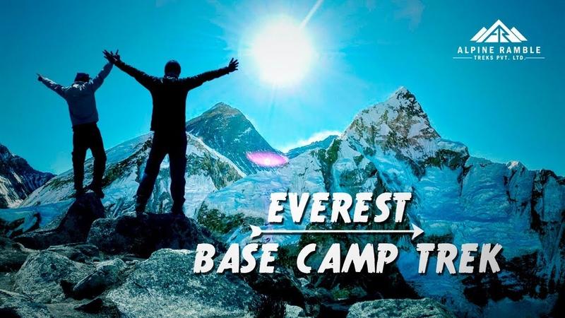 Everest Base Camp Trek best video 2020 | 8 Days EBC Hike Nepal