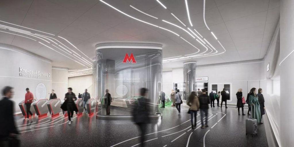 В Москве построят станцию метро по проекту бюро Захи Хадид
