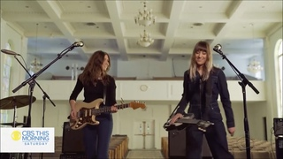 Larkin Poe - She's A Self Made Man (Live from CBS This Morning Saturday Sessions)