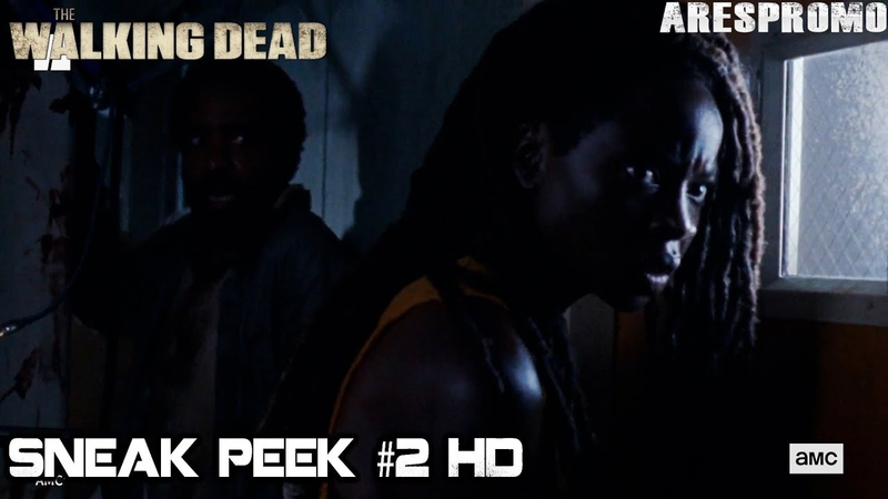 The Walking Dead 10Bx13 Michonne Kills All Walkers Season 10B Episode 13 HD What We Become