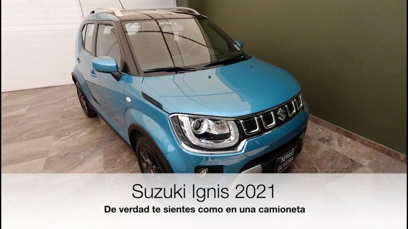 Suzuki Ignis 2021 De verdad te sientes en una camioneta