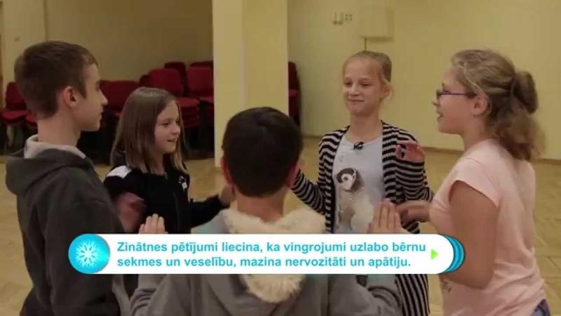 Vecuma grupa 4 Spēle REAĢĒ VAI TUPIES Rīgas