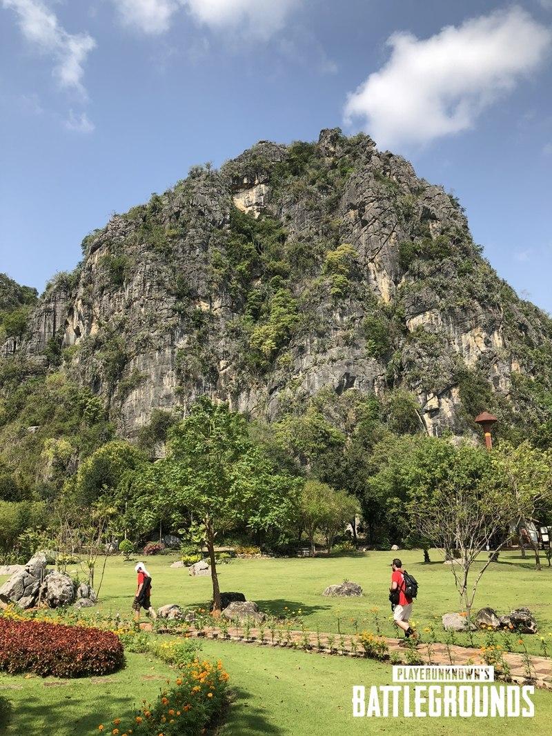 Горы и его ландшафт в PUBG