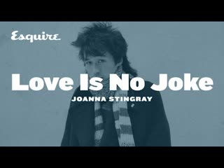 Joanna Stingray —Love Is No Joke (Esquire) #цой #кино