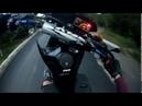Питбайк kayo 140 - гонки на грани возможного Девушка на мотоцикле