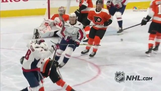 Alex Ovechkin's 24th goal of the 2020-2021 NHL season against the Philadelphia Flyers 730th goal NHL