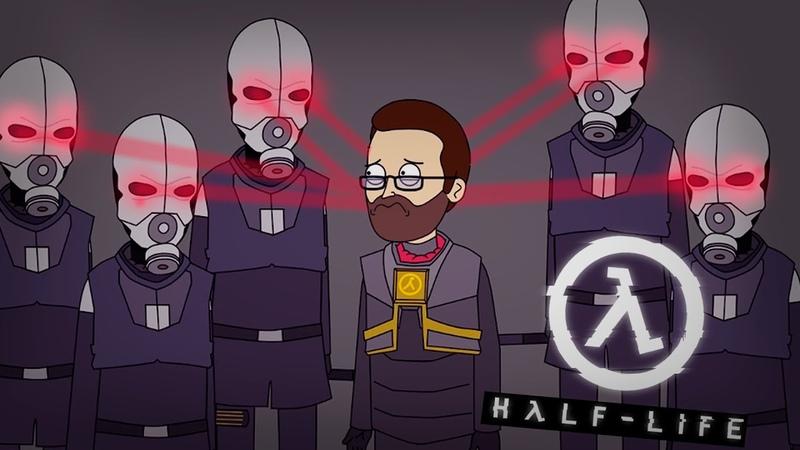 КУПЛИНОВ НОВЫЙ ГОРДОН ФРИМЕН! ► Half-Life 2 |Анимация про Куплинова