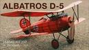 Dumas Kit 232 - Albatros D 5 StopMotion