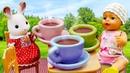 Игры для девочек - Беби Бон Эмили на пикнике с Sylvanian Family! - Сборник видео куклы Baby Born