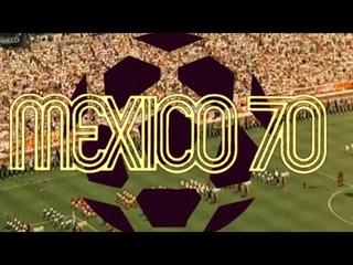 """Partido inaugural del Mundial *México 70*, """"México  vs  .""""  (1970)"""