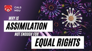 CALS: Why is assimilation not enough for equal rights. Li Zeyang