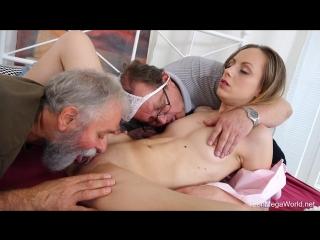 Natalia pearl - grandpas sandwich fresh cutie (group, threesome, blonde, blowjob, chardcore, masturbation, toys)