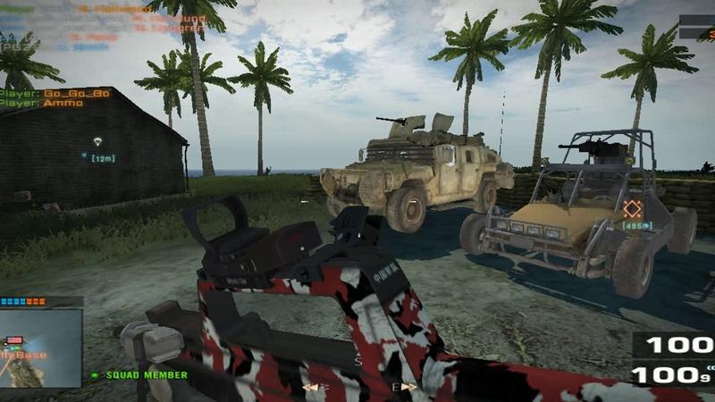Battlefield 2 End Game EG Basics DCL Gameplay