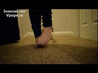 Sweaty nylon feet in heels with soles and toes (Ножки, Фетиш, Фут, Foot, Fetish, Чулки, Legs, Секси)
