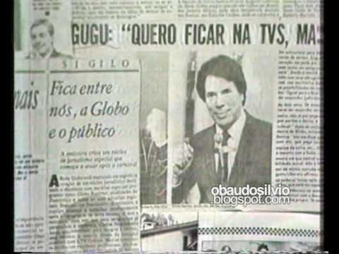 Silvio anuncia a volta de Gugu ao SBT ...em 1988