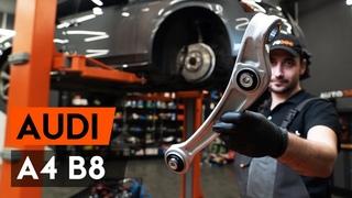 Как заменить передний рычаг подвески Audi A4 B8 Седан [ВИДЕОУРОК AUTODOC]