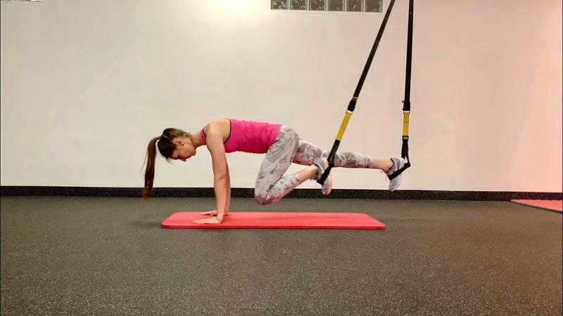 """Упражнение Альпинист"""" в петлях TRX"""