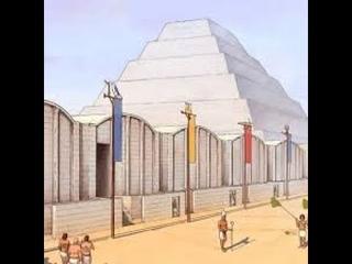 Первые пирамиды Древнего Египта (III династия, ок.XXVIII - XXVII вв. до н.э.)