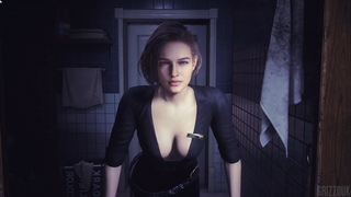 Resident Evil 3 Remake Jill Valentine in Bad Detective Outfit PC Mod