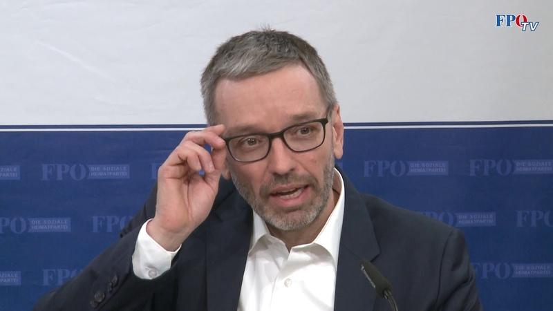 Wegen Flüchtlingspolitik Herbert Kickl kündigte Strafanzeige wegen Amtsmissbrauch an