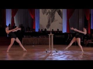 Mary Murphy Ballroom event Featuring Kenzie and Kierra Fischer