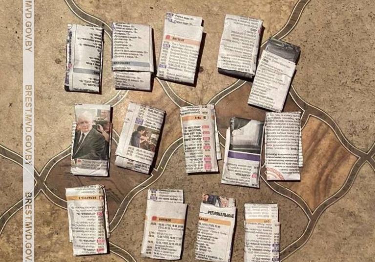 1,5 килограмма высушенной марихуаны нашли у жителя Микашевичей при обыске