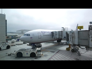 4K Boeing 777-300ER Aeroflot Los Angeles - Moscow-SVO (Full flight)