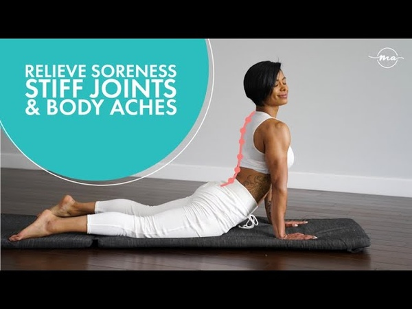 HOW TO RELIEVE SORE MUSCLES BACK PAIN AND BODY ACHES WITH GENTLE MOVEMENTS FOLLOW ALONG