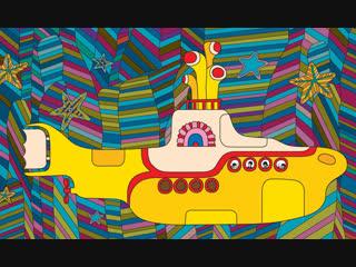Yellow Submarine (The Beatles) Желтая подводная лодка (1968) (психоделический музыкальный мультфильм) HD 1080