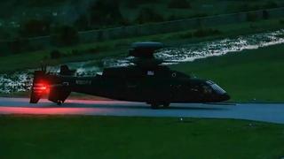Маневры высокоскоростного вертолета SB-1 Defiant сняли на видео в США